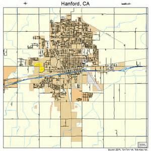 map of hanford california hanford california map 0631960