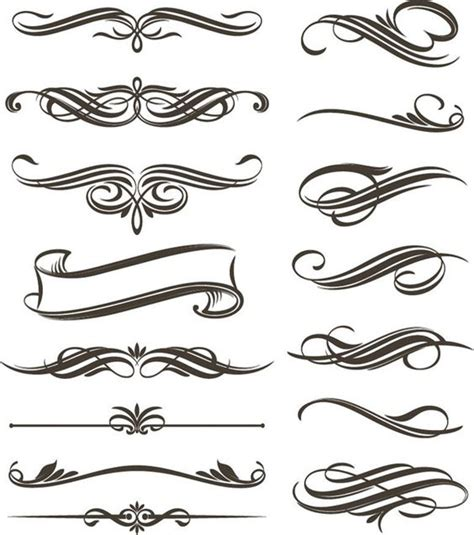 svg pattern style filigree clip art continue reading set of floral