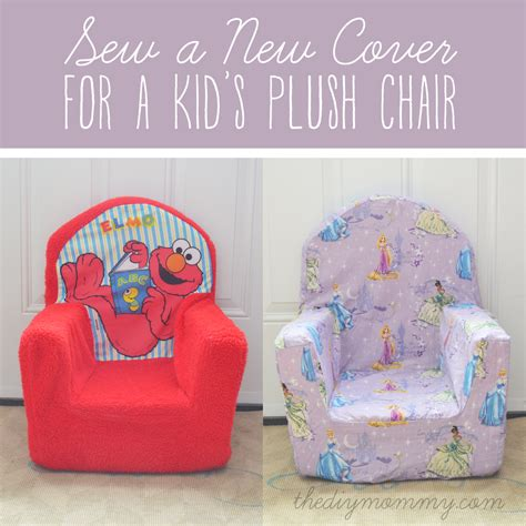 Sew Home Decor sew a new cover for a plush kid s chair the diy mommy