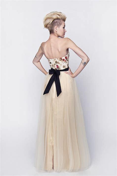 Lange Brautkleider by Langes Standesamtkleid Brautkleid Mit Rosenmuster