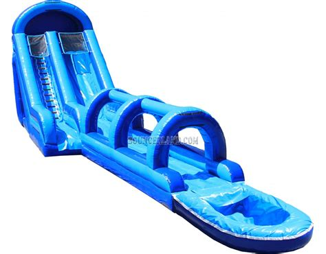 blow up bounce house bouncerland inflatable water slide 2076