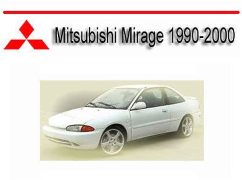 car owners manuals free downloads 2000 mitsubishi mirage parental controls mitsubishi mirage 1990 2000 service repair manual download manual