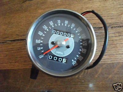 Speedometer R25 By Tiger Part triumph t140d speedometers parts for sale