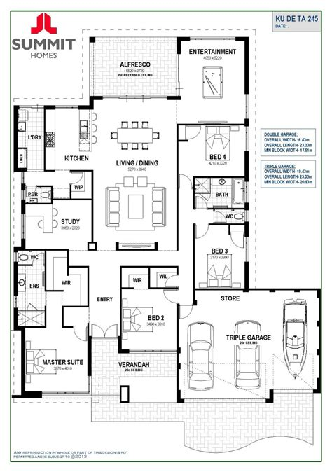 how to design home layout floor plan friday open living with triple garage