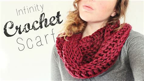 beginners crochet infinity scarf crochet infinity scarf crochet beginner