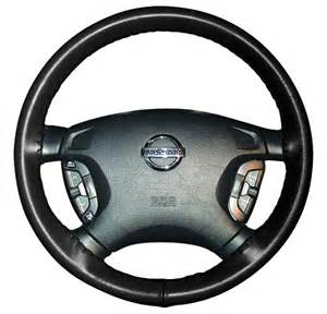 Leather Steering Wheel Cover Adds A Touch Of Class To Your Car S Interior Provides