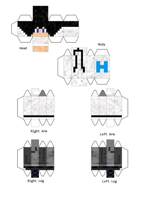 Minecraft Papercraft Skin - the gallery for gt minecraft papercraft skins