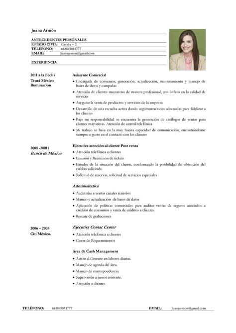 Modelo De Curriculum Vitae Para Ventas Ejemplo De Curr 237 Culum Vitae Para Servicio De Atenci 243 N Al Cliente Curriculum