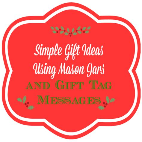 simple gift ideas and gift tag message oh my heartsie girl