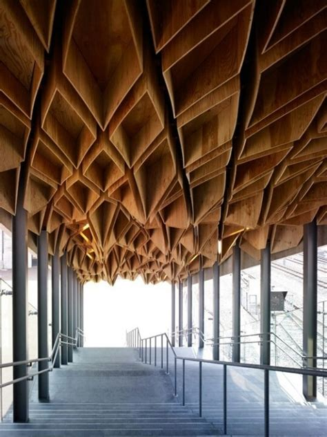 Honeycomb Ceiling honeycomb ceiling design architecture honeycomb
