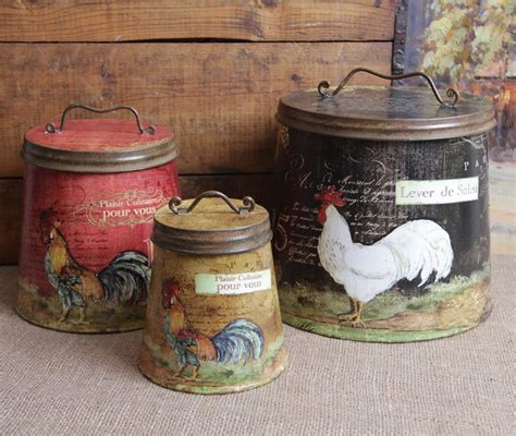 Red Kitchen Canister by Rooster Decor Jpg