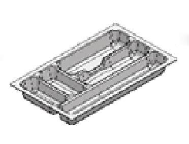 Rak Sendok Vitco rak sendok plastik putih 35