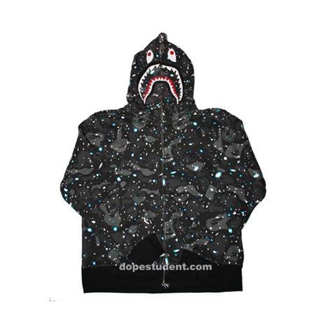 Bape Space Camo space camo bape shark hoodie dopestudent
