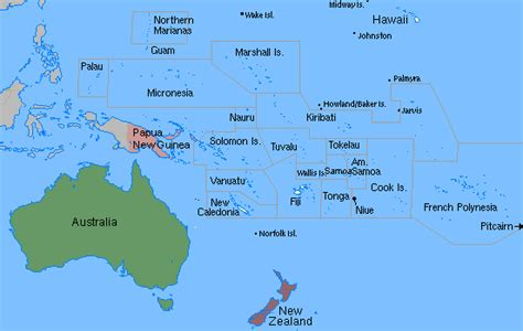 map of oceania countries test your geography knowledge oceania countries lizard