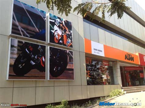 Ktm Showroom Bajaj Converting Probiking Outlets To Ktm Showrooms Team Bhp