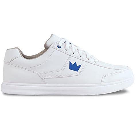 athlete edge shoes brunswick edge mens bowling shoe white 9 5 apparel