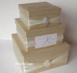 card boxes for weddings wedding card box bling card box rhinestone money holder