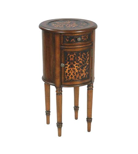 sterling industries 51 0061 leopard drum end table atg sterling 51 0061 leopard drum 29 x 15 inch side table