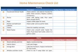 home maintenance schedule template basic dotxes