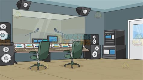 Background Recording A Recording Studio Background Clipart Vector