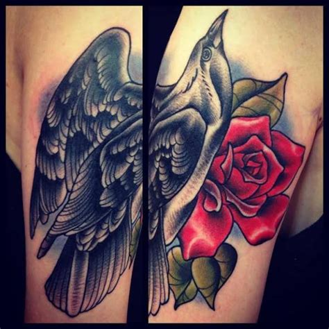 old crow tattoo school