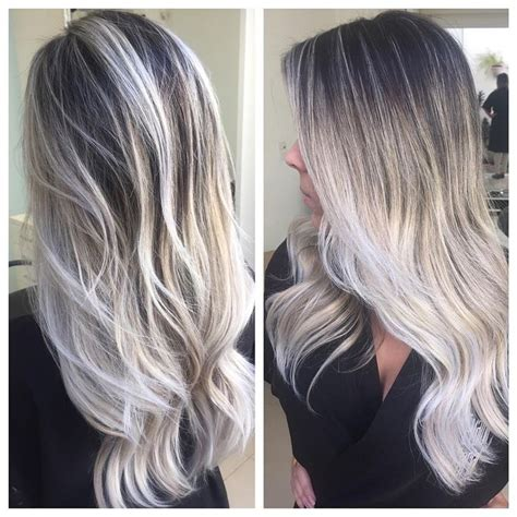 from platinum blonde to ombre platinum ombre olaplex pretty hairs all things beauty