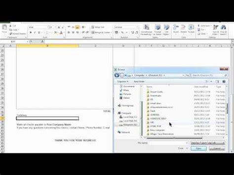 cara membuat invoice excel 2007 www xclmedia net cara mudah membuat laporan keuangan doovi