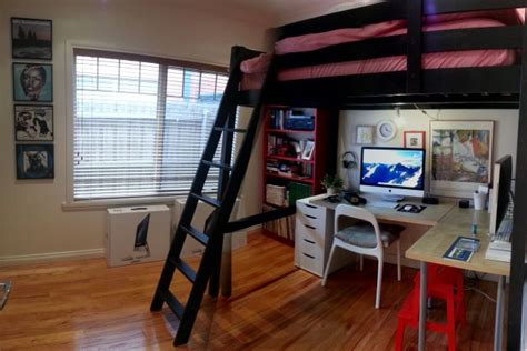 Spare Bedroom Hacks 123 Best Images About Space Saving Loft Beds With Style On