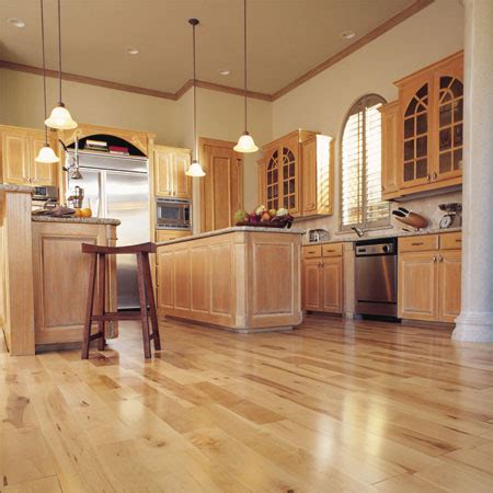 Canadian Kitchen Cabinets Manufacturers by Kitchens Flooring Idea Canadian Maple Plank Natural By