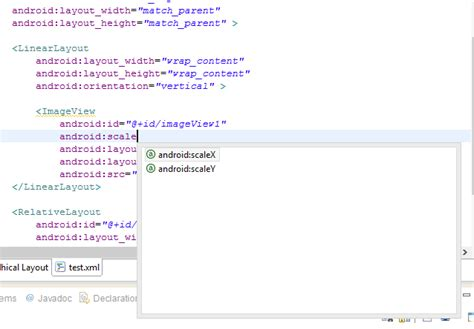 eclipse android layout editor not working eclipse content assist not working properly for android