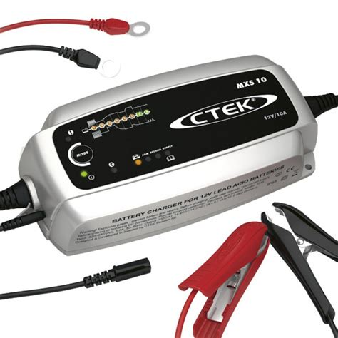 battery charger 10 ctek mxs 10 0 battery charger next day delivery