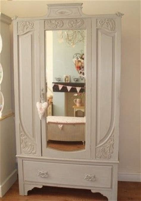 shabby chic wardrobe sale vintage shabby chic painted pine wardrobe for sale on