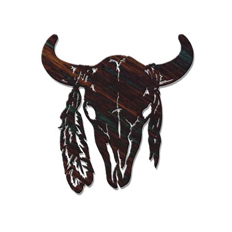 tribal buffalo tattoos american bison symbol 24 quot buffalo skull tribal