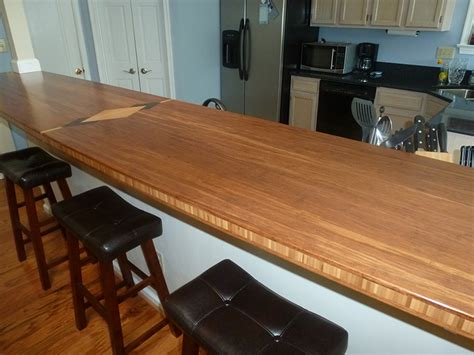how to create a custom bamboo countertop in a bathroom bamboo countertop southside woodshop