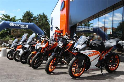 Motorrad Verkaufen Wien by Ktm Husqvarna Flagshipstore Wien Er 246 Ffnung Motorrad Fotos