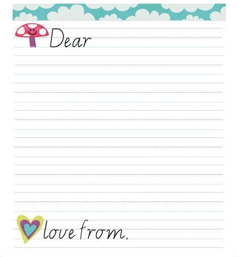 sle letter format for kids 7 free sles exles