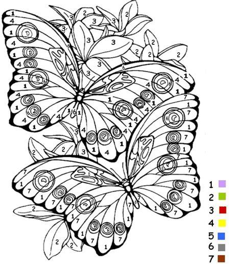 Dessin A Colorier Papillon L