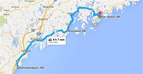 map of maine coastline traveling inn to inn in maine travel tips