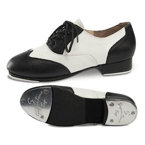 tap shoes danshuz black white applause leather lace up tap shoe