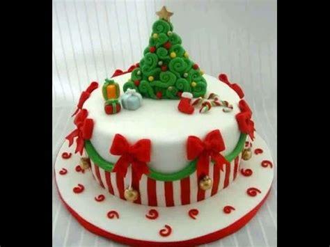 decorar tarta navidad tortas para navidad youtube
