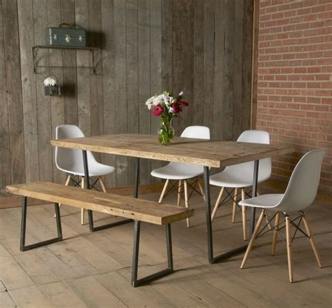 Formidable Table Bois Fer Forge Salle Manger #1: table-design-salle-a-manger-rustique.jpg