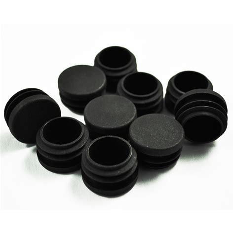 1 X 3 Floor Protectors - 10pcs black plastic chair table 30mm leg foot floor