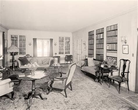 literature s living room at home with s classic novelists books 1920 s living room christie time interiors of the