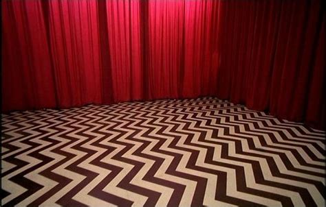 david lynch red curtains twin peaks movies pinterest