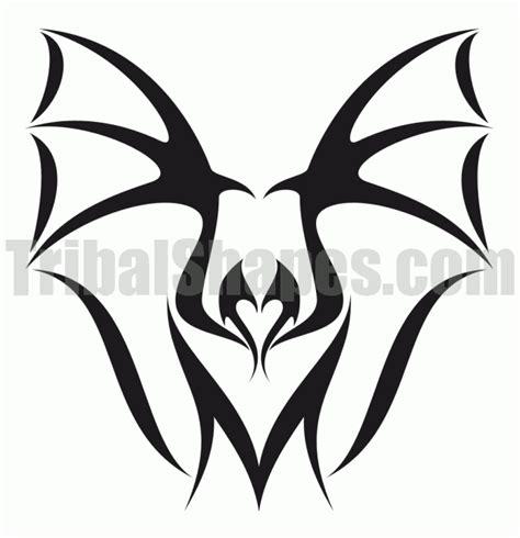 tribal bat tattoo quot bat 1 quot design