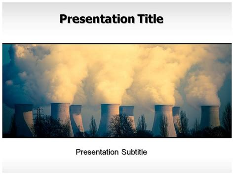 Air Pollution Powerpoint Ppt Templates Background Slides And Presentation Air Powerpoint Template