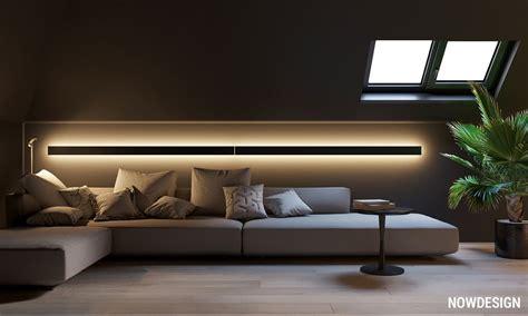 black  white    sloped ceiling apartments