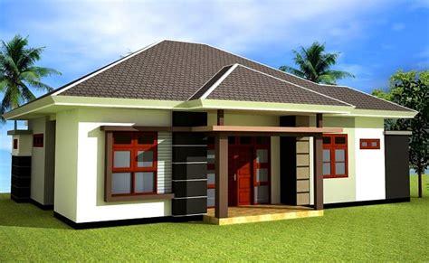 desain rumah satu atap model desain atap rumah minimalis terbaik