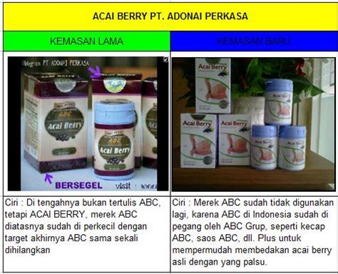 Acai Berry Scrub Asli cara membedakan abc acai berry asli dengan yang palsu