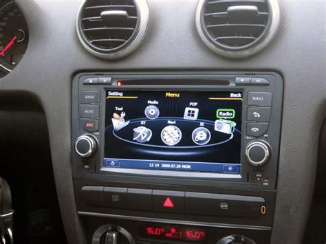 Audi A3 Sportback Radio by Poste Audi A3 Autoradio Gps Dvd Usb Audi Bluetooth